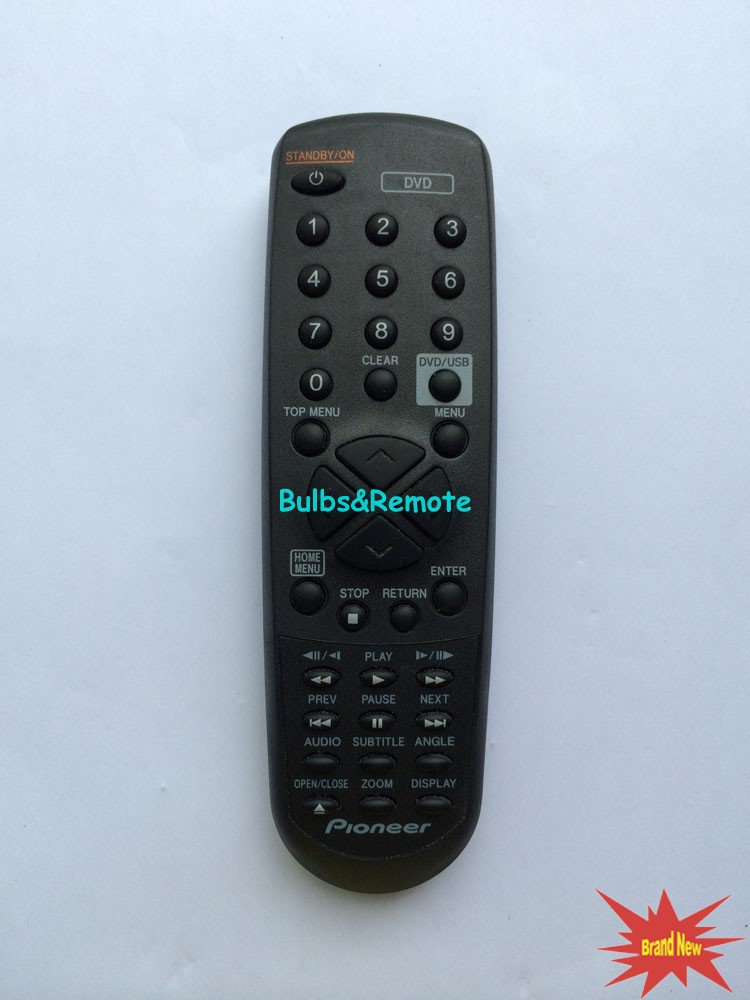 For PIONEER 076K0US011 Remote Control