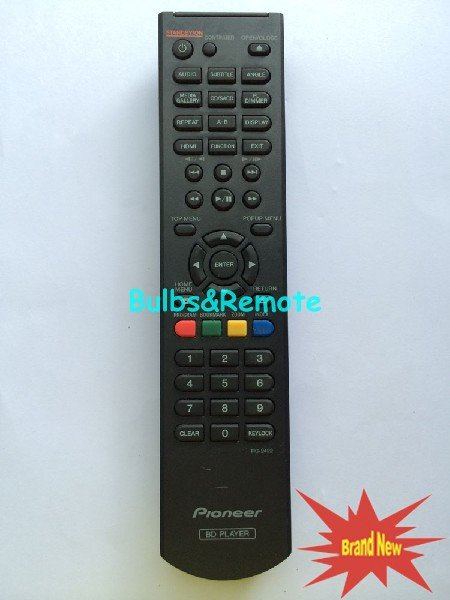 For Pioneer BDP-150 RC-2422 RC2422 BD Player Remote Control