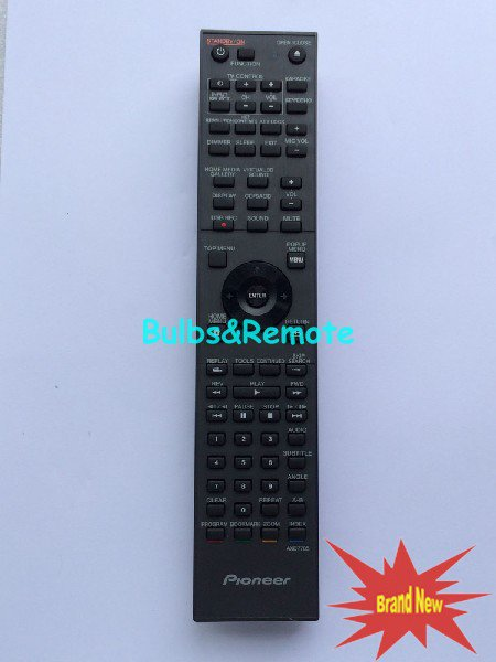 For Pioneer AXD7705 Audio/Video Player Remote Control