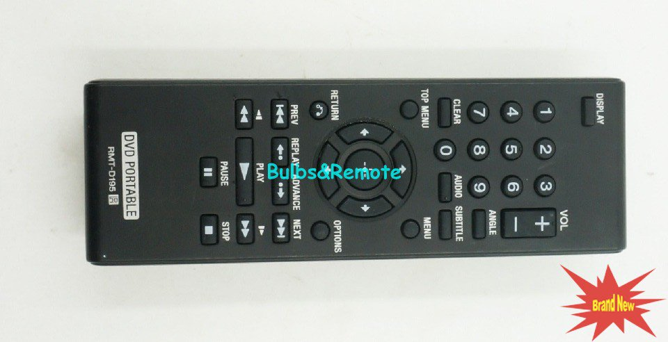 For Sony DVD player Remote Control DVP-FX96 DVP-FX970 DVP-FX970WM DVP-FX770 DVP-FX980