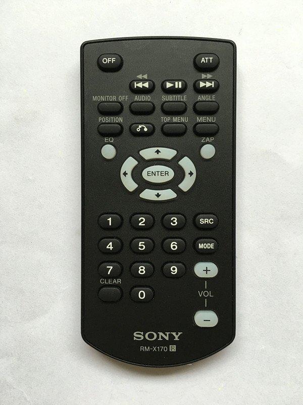For Sony RM-X170 XAV-62BT XAV-64BT XAV-68BT XAV-70BT Car Stereo Remote Control