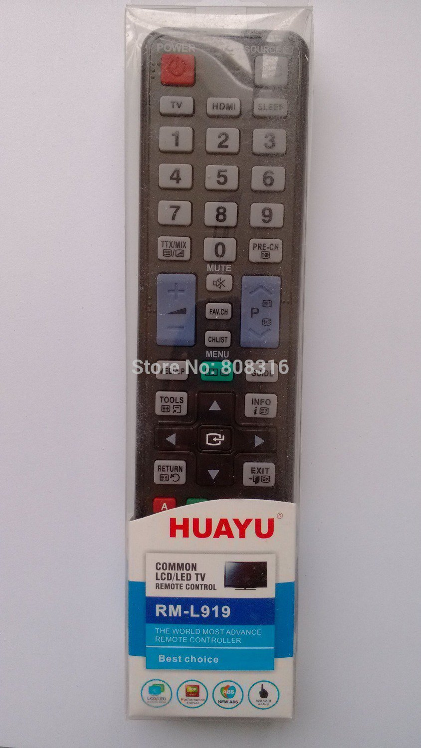 FOR SAMSUNG RM-L919 LCD LED TV REMOTE CONTROL