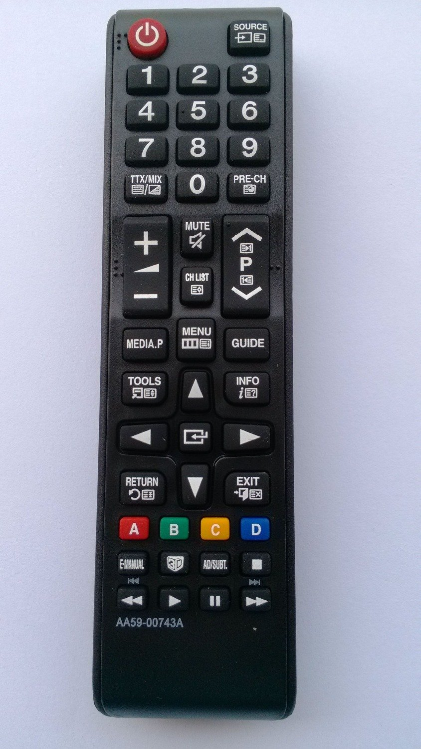 AA59-00743A REMOTE CONTROL FOR SAMSUNG LCD LED TV