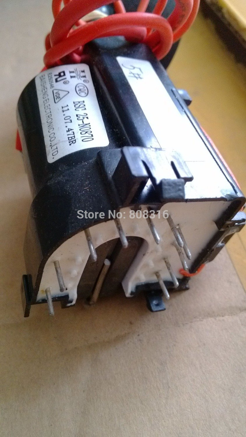 For BSC25-N0870 flyback transformer for CRT television