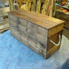 Primitive Wooden Box, Storage Chest style 204
