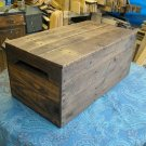 Primitive Wood Box, primitive home decor style 205