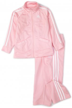 Adidas Baby Girl Track Suit Light Pink
