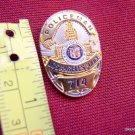 LA Los Angeles DRAGNET Mini Metal Prop Police Man Shield Badge Cops Lapel Pin