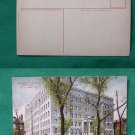 ALLEGHENY PA GENERAL HOSPITAL EARLY VINTAGE POSTCARD