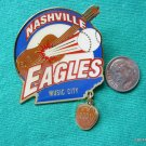 SOFTBALL PIN NASHVILLE EAGLES MUSIC CITY 2001 16U
