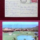 Makaha Inn Hotel Golf Course Makaha Beach 1972 Photo View Old VINTAGE POSTCARD