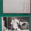RUSSELL BEARD BABY OLD RPPC REAL PHOTO VINTAGE POSTCARD