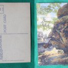 VINTAGE POSTCARD STONE WITCH SEE ROCK CITY LOOKOUT MT