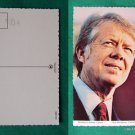PRESIDENT JIMMY CARTER PHOTO VINTAGE POSTCARD