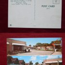 Pensacola FL Bay Bridge Court Motel Sign Photo View Old VINTAGE POSTCARD PC