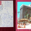 Doral Hotel on the Ocean Tahitian Beach Hut Photo View Old VINTAGE POSTCARD PC