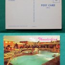 THUNDERBIRD HOTEL CASINO SWIMMING POOL VINTAGE POSTCARD