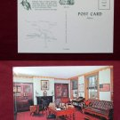 Lancaster PA James Buchanan Home Interior Photo View Old VINTAGE POSTCARD PC