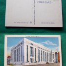 US POST OFFICE ALBANY NEW YORK NY OLD VINTAGE POSTCARD