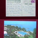Grand Bahama Hotel Country Club Swimming Pool Photo View Old VINTAGE POSTCARD PC