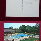 Venice FL Royal Coachmen Campground Pool Photo View Old VINTAGE POSTCARD PC