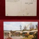 Fort Myers Florida Rock Lake Motel Photo View Highway 80 Old VINTAGE POSTCARD PC