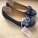 Nine West Vintage America Womens Sz 4 Shoes Black Buckle New Flats Nice