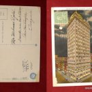 Early Stamp Keenan Building @ Moonlight Night Pittsburgh PA Old VINTAGE POSTCARD