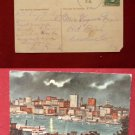 Early 1912 River View Baltimore MD Moonlight Full Moon Old VINTAGE POSTCARD PC