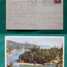 POSTCARD VINTAGE FISHERMANS COVE VANCOUVER CANADA 1953