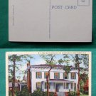 FIRST CONFEDERATE WHITE HOUSE MONTGOMERY AL  POSTCARD