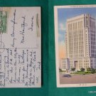 KANSAS CITY MO COURT HOUSE 1937 STAMP VINTAGE POSTCARD