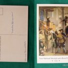 OLD SOUTH MEETING LEADS TO BOSTON TEA PARTY POSTCARD