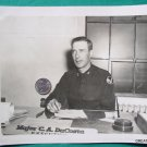 MAJOR CA DACOSTA AIR FORCE MILITARY WAR PHOTO VINTAGE
