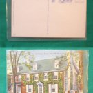 OLD RIDGLEY HOUSE 1728 DOVER DELAWARE VINTAGE POSTCARD