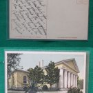 1900 CUSTIS LEE MANSION ARLINGTON VIRGINIA OLD POSTCARD