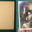 MOTHER & DAUGHTER EARLY 1900'S RPPC REAL PHOTO POSTCARD