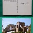AMTRAK MINUTE MAN HELL GATE BRIDGE TRAIN PHOTO POSTCARD