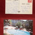 Carmel CA California Holiday Inn Motel Swimming Pool Old VINTAGE Photo POSTCARD