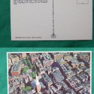 BOSTON CITY VIEW OLD NORTH CHURCH MA VINTAGE POSTCARD