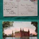 FREDERIKSBORG SLOT CASTLE DENMARK c.1900 OLD  POSTCARD