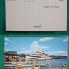 WASHINGTON CRUISE BOAT LAKE WINNIE NH VINTAGE POSTCARD