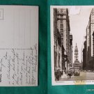PHILADELPHIA BROAD ST RPPC PHOTO OLD VINTAGE POSTCARD