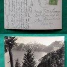 1930 CRATER LAKE VIEW VINTAGE RPPC REAL PHOTO POSTCARD
