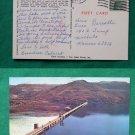 GRAND COULEE DAM 1977 VIEW WASHINGTON VINTAGE POSTCARD