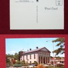 Quincy MA Mass City Hall Town Car Photo View Old VINTAGE POSTCARD PC