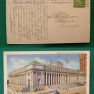 NEW YORK CITY NYC MAIN POST OFFICE OLD VINTAGE POSTCARD
