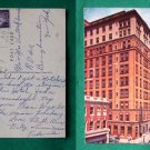1958 MOHICAN HOTEL NEW LONDON CT OLD VINTAGE POSTCARD