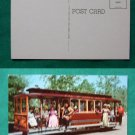 KNOTTS BERRY FARM GHOST TOWN TROLLEY VINTAGE POSTCARD