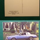 1980 BUICK REGAL LIMITED ADVERTISING VINTAGE POSTCARD